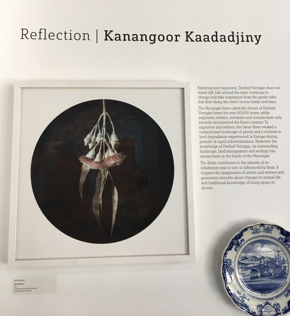 Reflection / Kanangoor Kaadadjiny exhibition heading