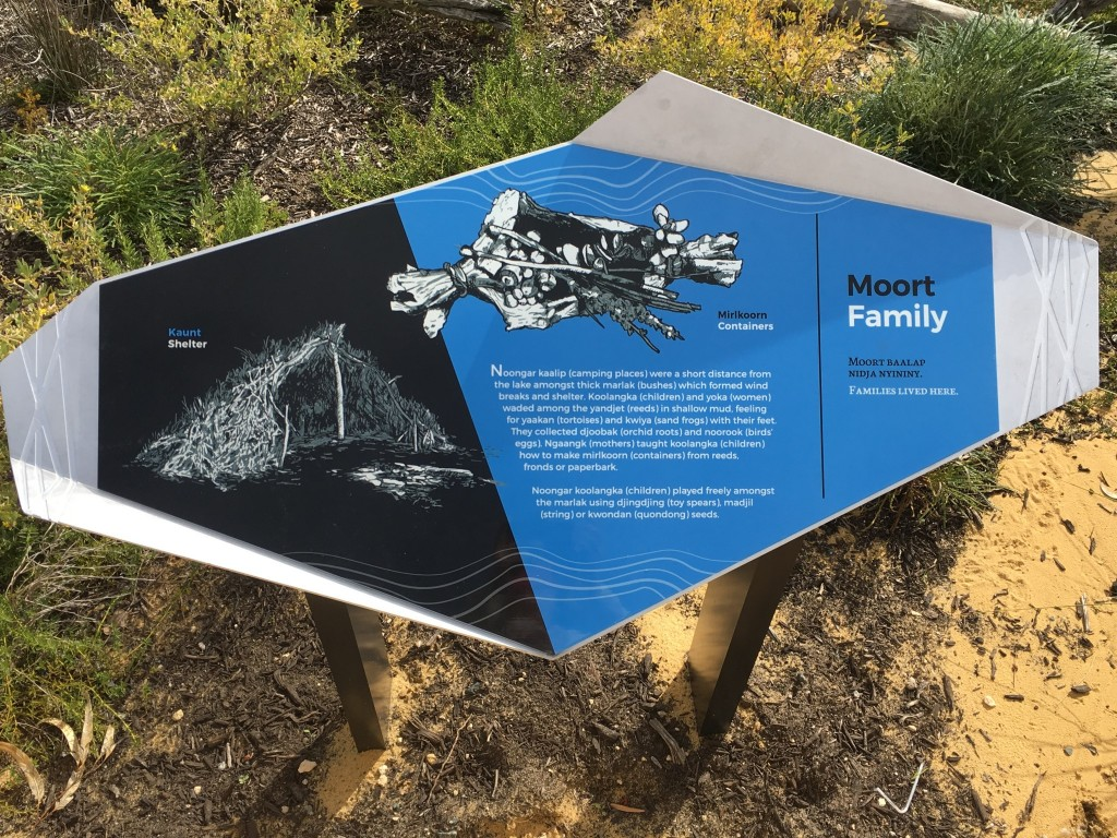 Moort / Family Yandi Park sign